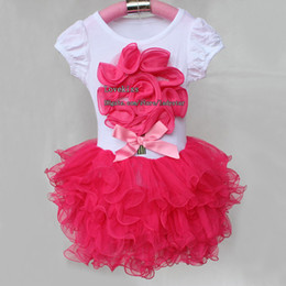 Wholesale Casual Children Dresses - Fashion Girl Clothes Casual Dresses Kids Clothes Skirt Baby Summer Dress Children Clothing Girls Party Dresses