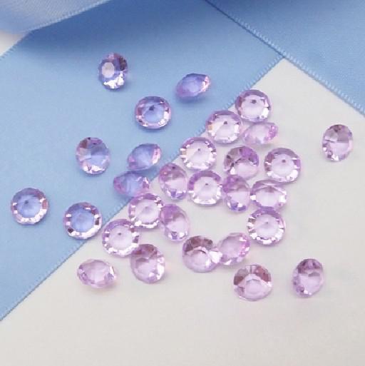 高品質6.5mm(1carat)ゴールドダイヤモンド紙吹雪結婚披露宴 - 送料無料