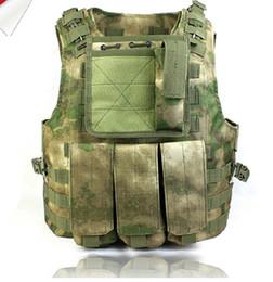 Wholesale Combat Armor - A-tacs FG amphibious combat vest Tactical Combat ARMOR Vest FG