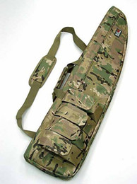 Wholesale Cp Camouflage - New Tactical 911 1m for rifle gun slip carry rifle bag CP multicam