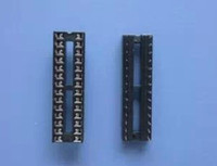 Wholesale Ic Socket Types - 24Pin 28pin 20pin 18pin 16pin 14pin 8pin 6pin DIP SIP IC Sockets Adaptor Solder Type Narrow Wide
