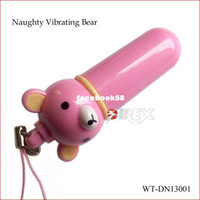 Wholesale Pocket Rocket Mini Vibrator - Wholesale - Adult sex products 7 vibrating functions naughty bear mini vibrating bullet,vibrator egg,mini pocket rocket sex toys for couples