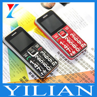 Wholesale Elder People Mobile Phone - Free shipping senior phone Cheap mobile phone with dual sim card stand by cell phone for elder people