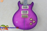Wholesale Electric Santana - Custom Shop Santana Electric Guitars purple 25TH ANNIVERSARY SANTANA Classic Scar trees electric guitar new arrival