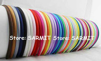 Wholesale fresh child - 50 Colors Available Hot Fashion Children Satin Headbands Adult Simple Fresh Color Fashion Row Satin Ribbon Covered Headbands Hair Accessorie