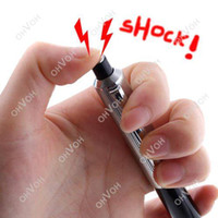 Wholesale Electric Trick - S5Q Adult Shocking Electric Shock Novelty Pen Prank Trick Fun Joke Gag Toy Gift AAAAQN