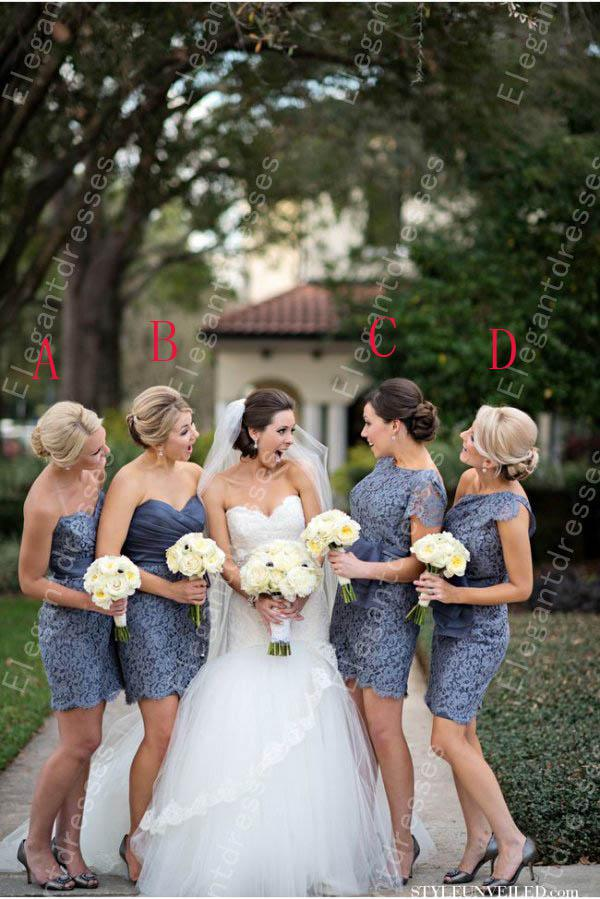 2019 Elegant Hot Sell High Lace Lace Bridesmaid Dresses Formal Dresses Under 100$ Honor Of Maid Custom