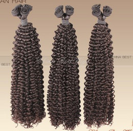 Afro Kinky Hair Shipping Australia - Oxette Afro kinky curl human hair weave Grade 5A full cuticle intact virgin Mongolian kinky curly hair free shipping 3 or 4 bundles