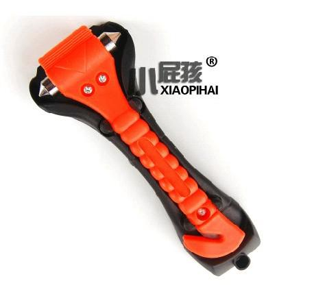 top popular High quality Car 2 in 1 Emergency Life-Saving Hammer safety belt Cutter Auto Tool 50pcs 2019