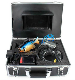 """Wholesale Cable Camera Ccd Color - 1pcs Lot Underwater Fish Camera   Color Fish monitor  fish finder, 7"""" Color display, 50M Cable 360 degree Rotate CCD camera"""
