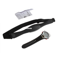 Wholesale Heart Rate Watch Chest Strap - 1pcs Popular Favor Waterproof Heart Rate Monitor Wireless Chest Strap Sport Watch