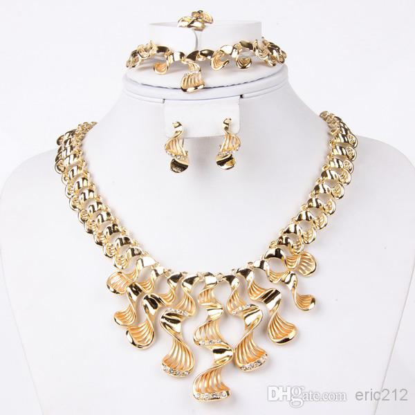 2018 Brand New Fashion Necklace Set African Costume Jewellery Set