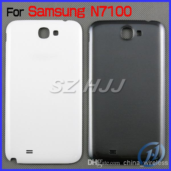 For Samsung Galaxy Note 2 N7100 Note 1 N7000 Original Brand New Back Chassis Housing Bezel For Note2 Note Battery Door Cover