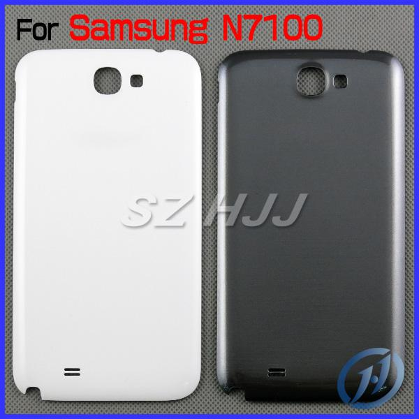 For Note2 Note Genuine Battery Door Cover For Samsung Galaxy Note 2 N7100 Note 1 N7000 OEM Back Chassis Housing Bezel DHL EMS