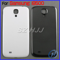 Wholesale S4 Gt - For Samsung Galaxy S4 I9500 I9505 Original Back Chassis Housing Bezel For Galaxy S4 GT-I9500 Galaxy S4 LTE GT-9505 Battery Door Cover