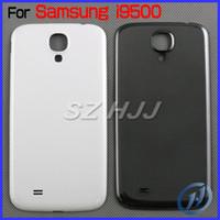 ingrosso copertura della batteria della galassia s4-Per Samsung Galaxy S4 I9500 I9505 Cornice posteriore originale Cornice per Galaxy S4 GT-I9500 Galaxy S4 LTE GT-9505 Coperchio della batteria