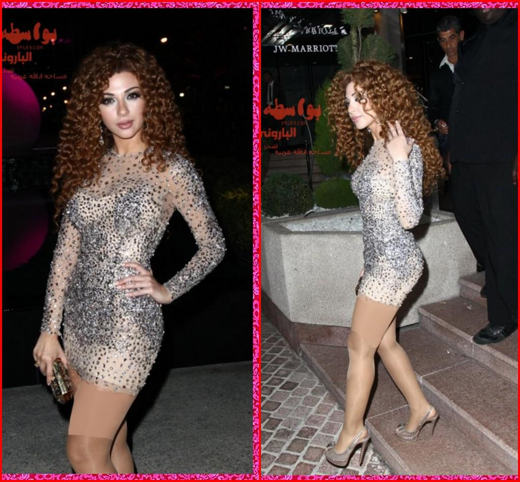 Bling Myriam Fares Sexy Long Sleeve Sheath Beaded  Cocktail Dresses Mini Short Tull Celebrity Red Carpet Dress Ke Tall Cocktail Dresses Turquoise