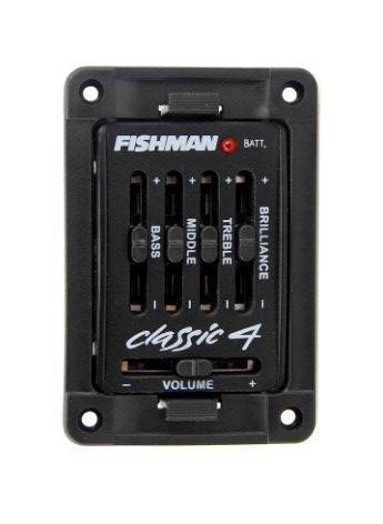 Fishman Classic 4 Acoustic Guitar Preamp Pickups In Stock