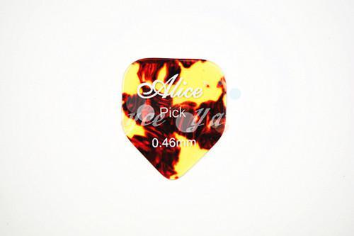 of Alice Small Pentagon Guitar Picks Pearl Celluloid Guitar Picks 0.46/0.71/0.81 mm Wholesales