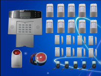 Wholesale band alarm systems - Wireless Wired Home GSM SMS Burglar Security Alarm System NEW Tri-Band H319