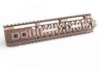 NOVESKE 12. 6 inch Handguard Rail System for AEG Coyote Brown