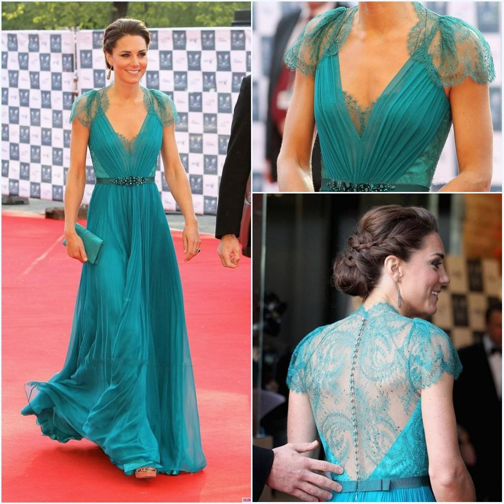 Buy 2015 Evening Dress Cap Sleeve Lace Special Occasion