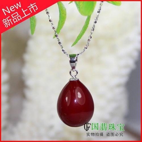 Wholesale ox blood red coral dark red coral pendant necklace pendant see larger image aloadofball Images