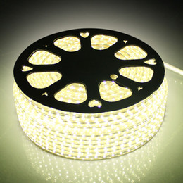 Wholesale ip67 led strip 3528 - 110V 220V AC SMD3528 LED Strip Light with a EU US Power plug 60lights m,IP67 Waterproof LED Strip
