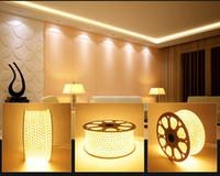 Wholesale Usa Strip - Special Price 100M 110V 120V 220V 230V 240V AC SMD 3528 IP67 Waterproof LED light Strips with EU USA Power Plug
