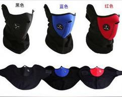 Cycling Caps & Masks unisex Neck Warm Face Masks Veil Sports Motorcycle Ski Cycling Protective Gear H63