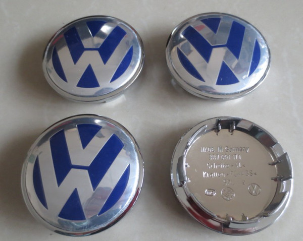Hot Sale 65mm 70mm BLUE Alloy Wheel Centre Center Cap Caps Car Badge Emblem Emblems for VW Volkswagen BY DHL 400pcs