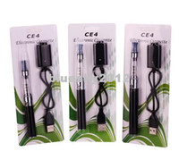 Cigarette électronique E Cigarette eGo ce4 kit de démarrage Ego Clear Cartomizer carte blister emballage batterie colorée 650mah 900mah 1100mah