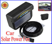 Wholesale High Powered Car Fan - High Quality New Solar Powered Energy Car Auto Cool Cooling Cooler Fan Air Vent Ventilation