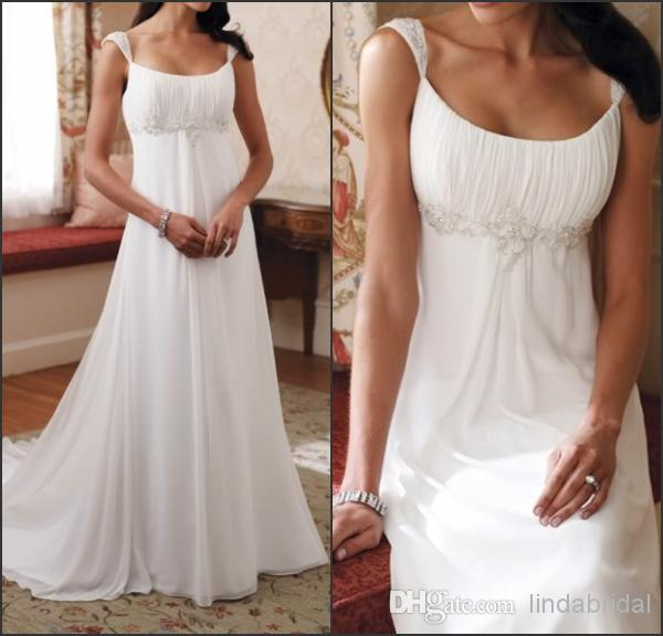 Maternity Wedding Gowns Under 100: 2016 New Empire Bridal Dress Maternity Wedding Dress