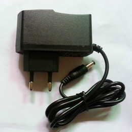 Wholesale Ac Adapter 9v Dc 1a - DC 12V 1A  12V 500mA  9V 1A   5V 2A Power Supply EU plug AC 100V-240V Converter Adapter