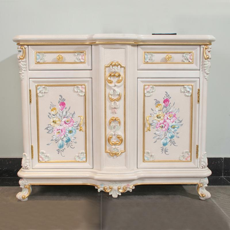 2019 French Style Furniture Antique Hand Carved Wood Furniture From