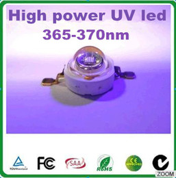 Wholesale Led Ufo 3w Light - UV led curing lamp 3w 365-370nm uv violet light led medical equipment