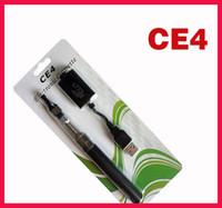 Wholesale Ego Blister Pack Free Shipping - 2014 Ego ce4 starter kit blister card packing 1.6ML E cigs ATOMIZERcolorful Battery 650mah 900mah 1100mah EGO kit DHL free shipping