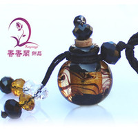 1pc Perfume Bottle pendant, Essential Oil Bottle Necklace, mur...