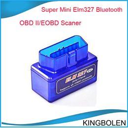 China ELM327 Bluetooth OBD2 mini version Latest Version V2.1 Mini ELM 327 Bluetooth For Multi-brands CAN-BUS Supports All OBD2 Model suppliers