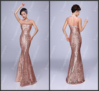 Wholesale Two Piece Dresses Diamond - New Arrival !!2014 Shiny Diamond Beaded Illusion Neck Mermaid Evening Dresses Party Prom Dresses TA1-12