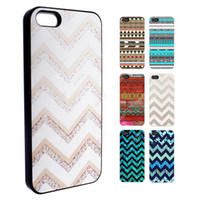 Wholesale Retro Aztec Cases - S5Q Aztec Stripes Retro Pattern Case Back Cover Protector Skin For iPhone 5S 5 AAACTU