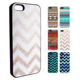 Wholesale Aztec Plastic - S5Q Aztec Stripes Retro Pattern Case Back Cover Protector Skin For iPhone 5S 5 AAACTU