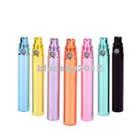 Wholesale Ego Electroplating Battery - Colorful Battery Ego CE4 Electronic Cigarette Kits Ego-t electroplating Battery Electronic Battery eGo t Battery