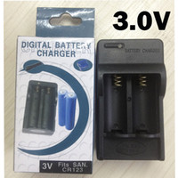 Wholesale Wholesale Rcr123a Batteries - Free DHL,50PCS RCR123A CR123 16340 Rechargeable 3V 16340 LED flashlight torch Battery Charger for all 3V 16340 Battery