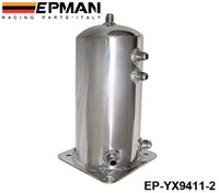 Wholesale Surge Tanks - EPMAN High Quality Aluminium Alloy 2L 2 Litre Universal Fuel Surge Cell Tank EP-YX9411-2 Have In Stock