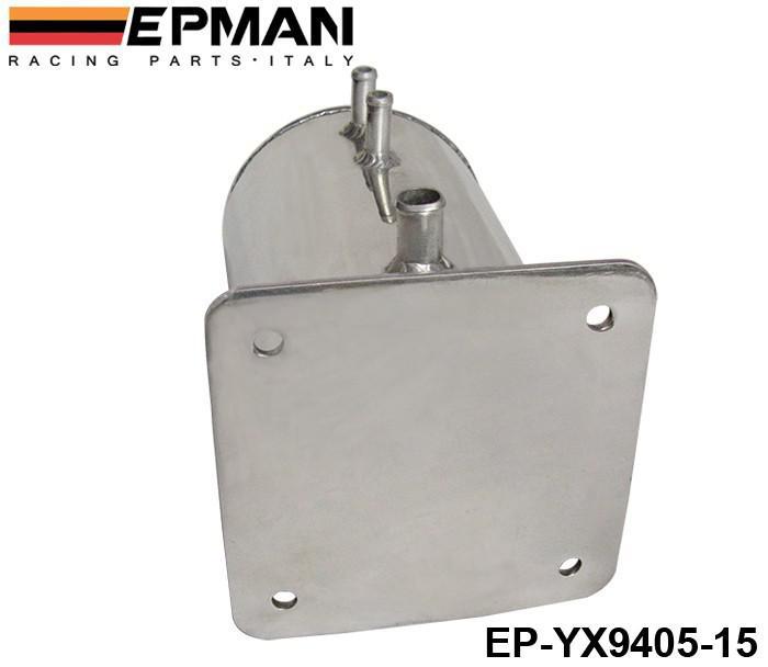 Réservoir de surtension de carburant de l'alliage de pot de tourbillon de carburant de l'allemand EPMAN pour la course de sport automobile Rallye à la traîne EP-YX9405-15