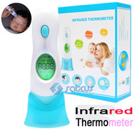 4 in 1 Digital-Infrarot-Thermometer für Adult Baby Infant Health Care-Monitor LED Körper Stirn Ohr Multifunktionale Termometer Anzeige