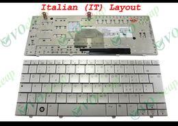 Wholesale Mini 2133 - New Laptop keyboard for HP 2133 2140 Mini-Note PC Silver Italian IT Version - MP-07C96I06930