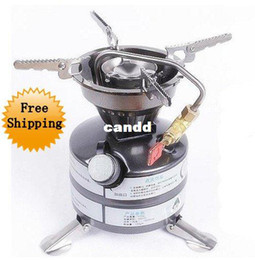 Wholesale Multi Fuel Camp Stove - free shipping one-piece oli Stove Multi-fuel Camping equipment gasoline Stove cookware Stove backpacking Burner